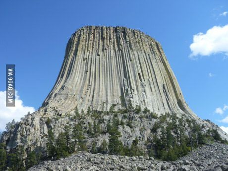 Devil's Tower, WY from my cross country drive with my brother