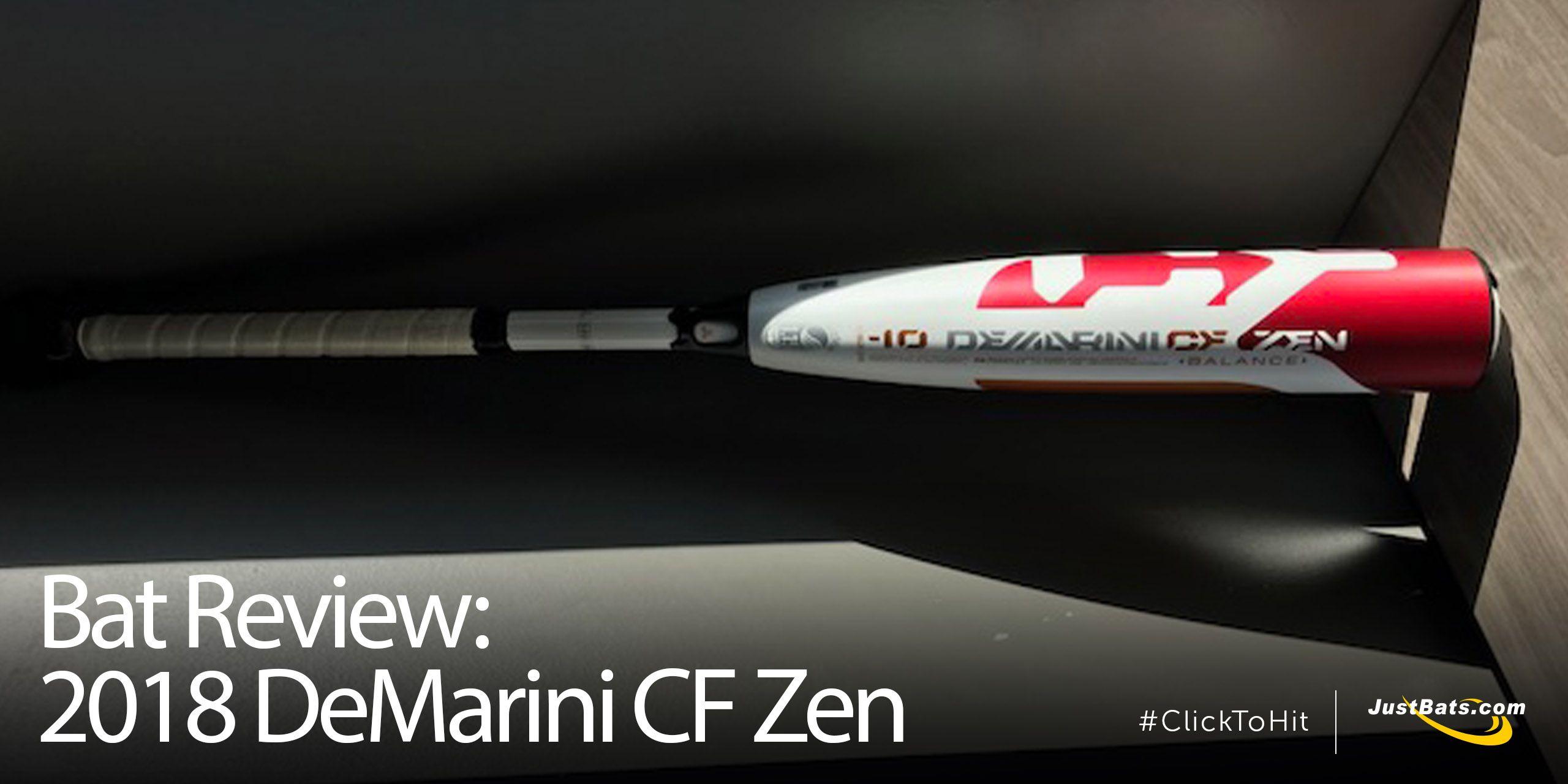 Bat Review: 2018 DeMarini CF Zen -10 Youth Big Barrel Bat (WTDXCBZ