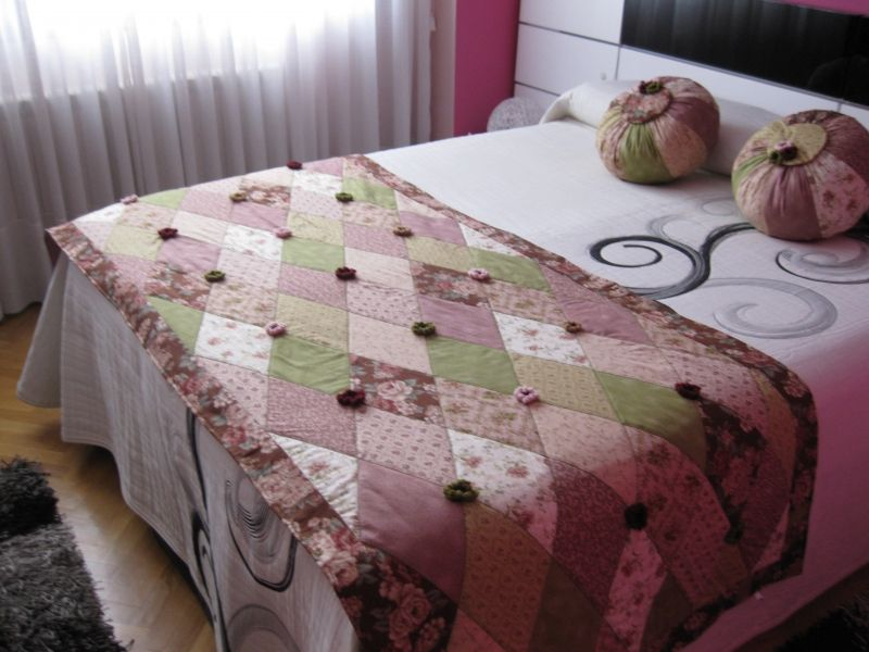 Colchas country patchwork juvenil buscar con google bed runner quilts bed - Colchas patchwork juveniles ...