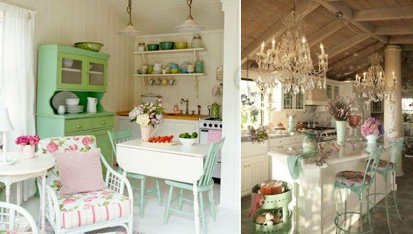 Marvellous Planning A Shabby Chic Kitchen Design