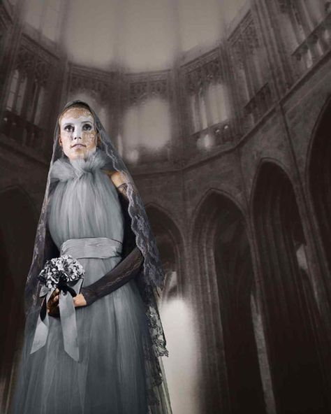 Gray Lady Ghost Costume Gray lady, Altars and Ghost costumes - halloween ghost costume ideas