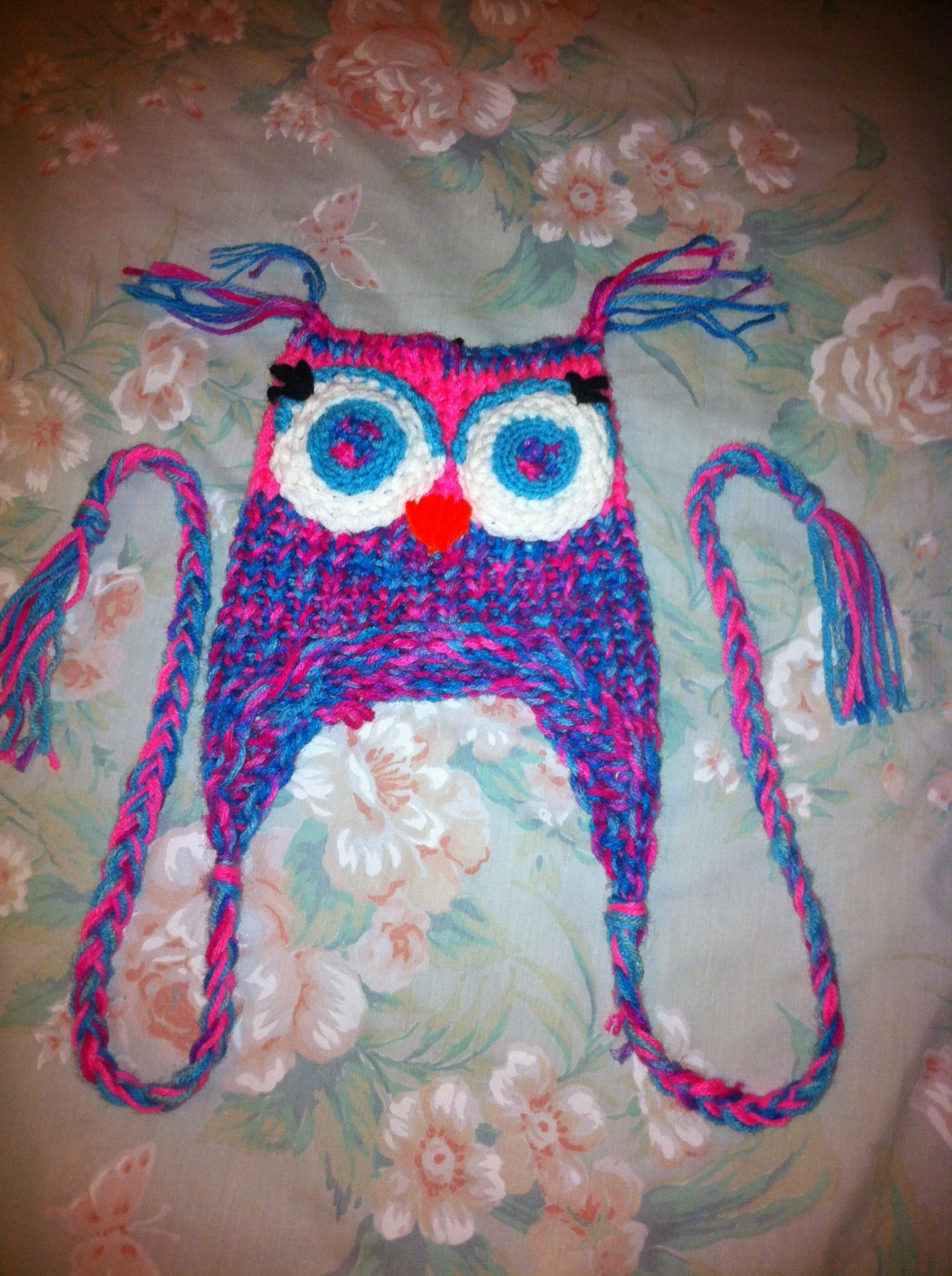 Loom Knit Owl Hat Loom Knitting Pinterest Knitted Owl Loom