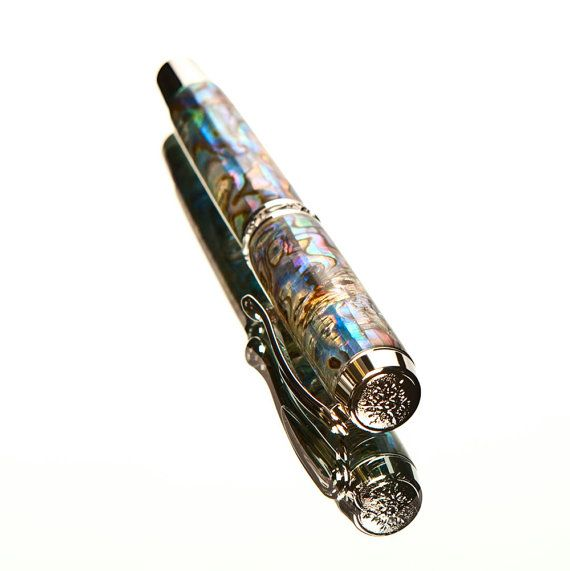 Abalone fountain pen.
