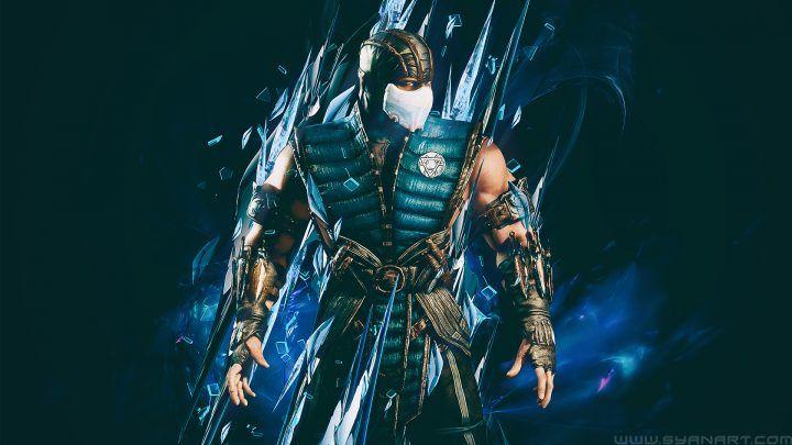 Mortal Kombat Mortal Ice Sub Zero Mens Vest