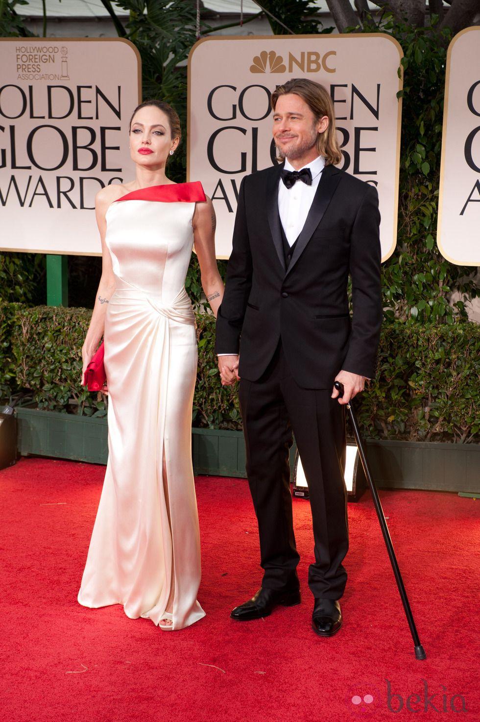 Angelina Jolie Brad Pitt Strapless Dress Formal Celebrity Weddings Brad Pitt