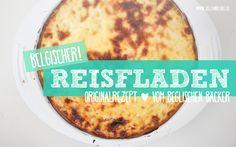 Belgischer Reisfladen – Originalrezept vom belgischen Bäcker