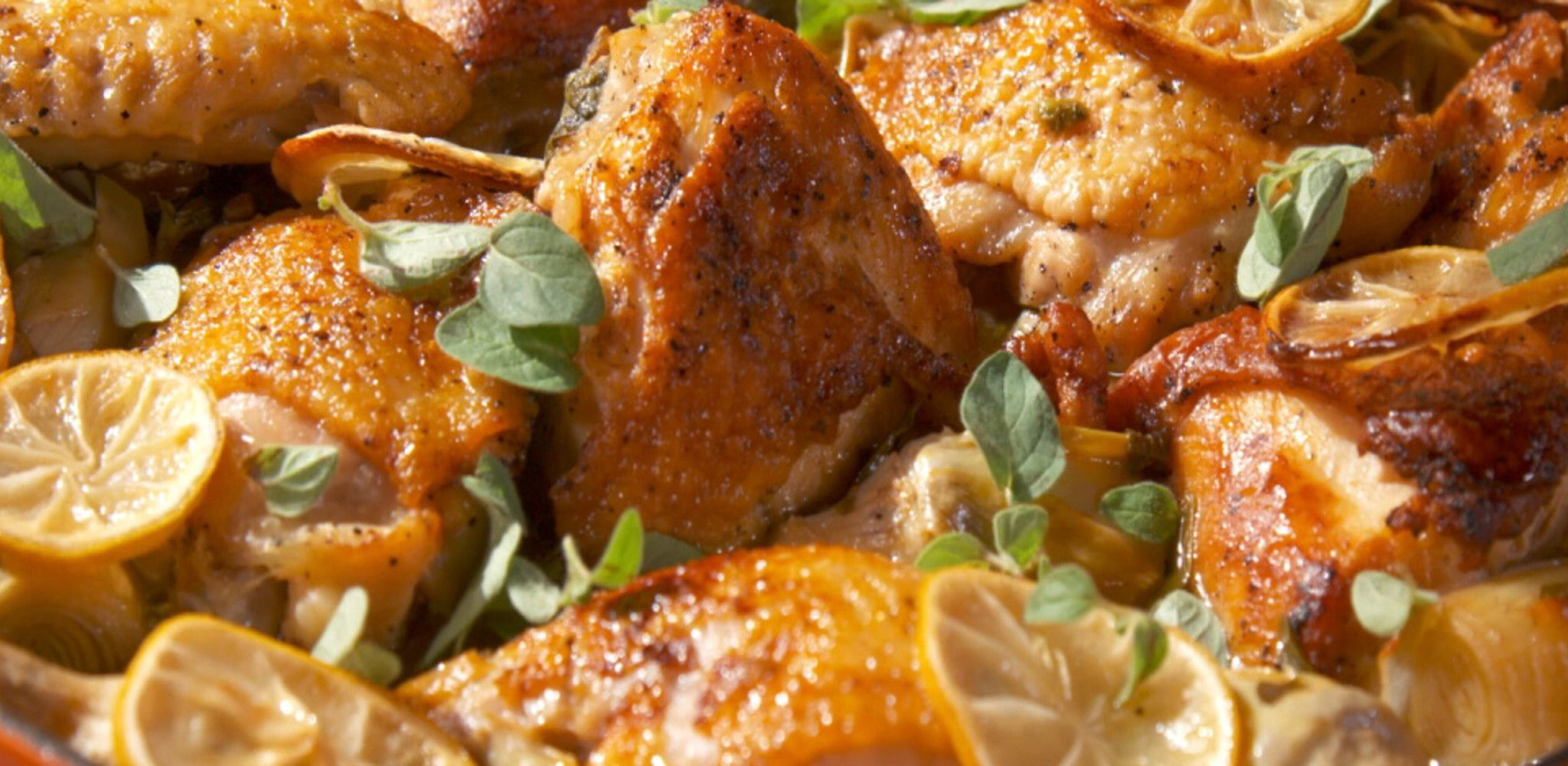Lemon and Oregano Chicken Recipe in 2020 Food network
