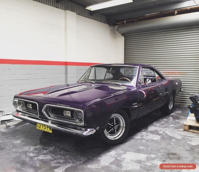 1968 Plymouth Barracuda May suit Dodge Mopar Roadrunner Chrysler ...