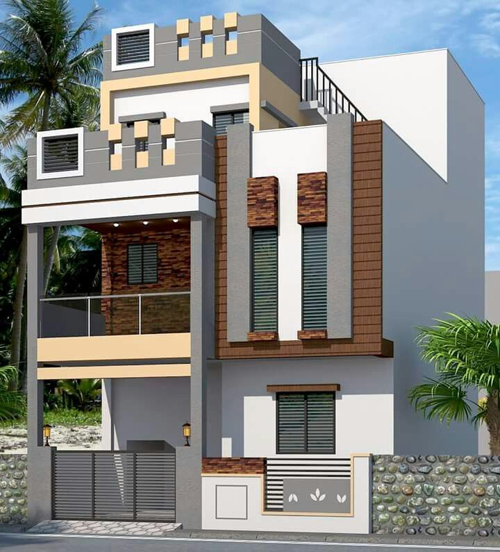 Modern Home Elevation Designs: Pin By Sivarama Krishna On Building Photos In 2019