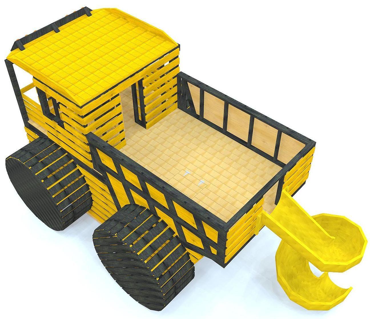Constuction Dump Truck Playset Plan Truck bed, Truck