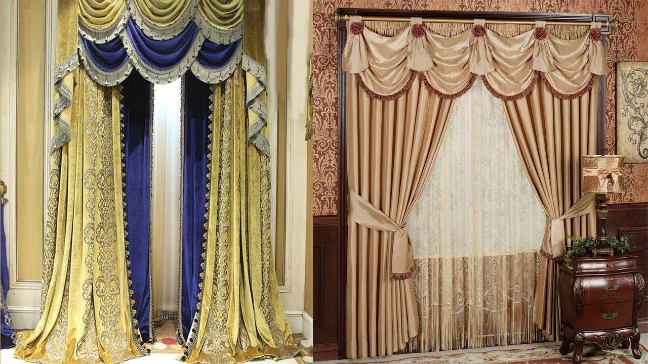 Picture Window Curtain Styles India 2019 On Sale European