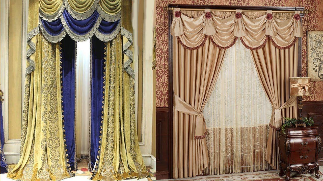 Curtain Design For Home Interiors India Parda Design In Room