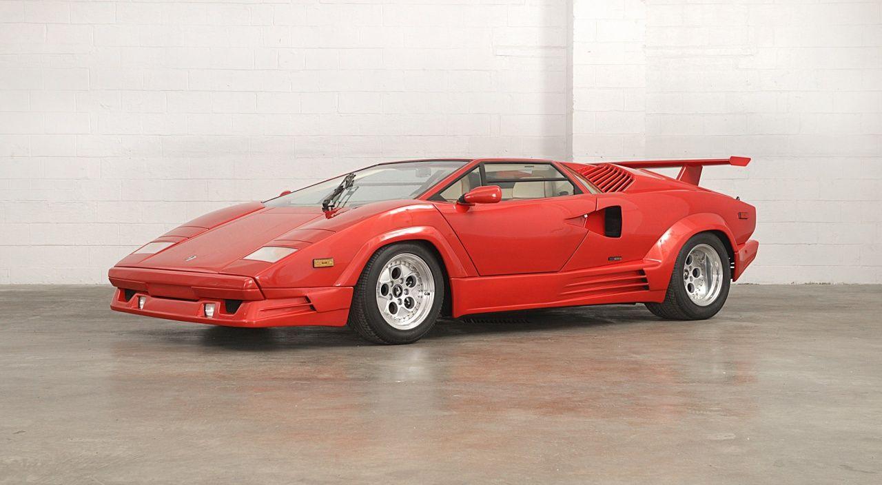 1989 Lamborghini Countach 25th Anniversary Za9ca05a4kla12478