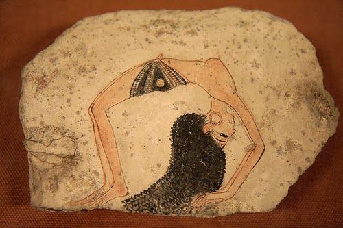 Resultado de imagen de ostracon bailarina