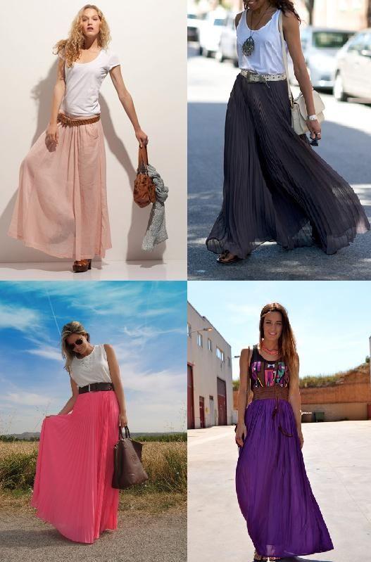 Falda Larga con Correas Para Mujeres Pollera de Cintura Alta Women Denim Skirts