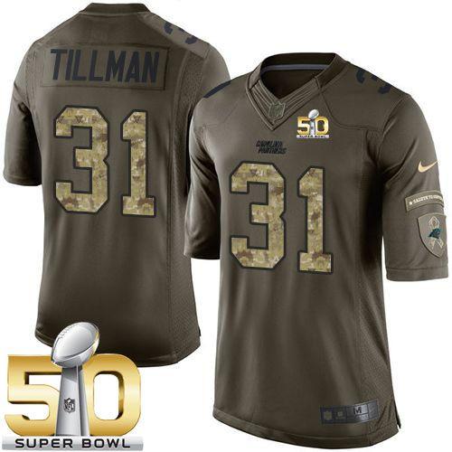 huge selection of 58fff 9a5b9 Kurt Warner jersey Nike Panthers #31 Charles Tillman Green ...