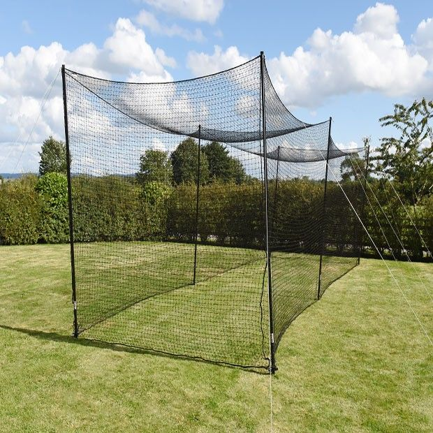 Fortress Ultimate Baseball Batting Cage 55ft X 10ft X 10ft Batting Cages Baseball School Yard