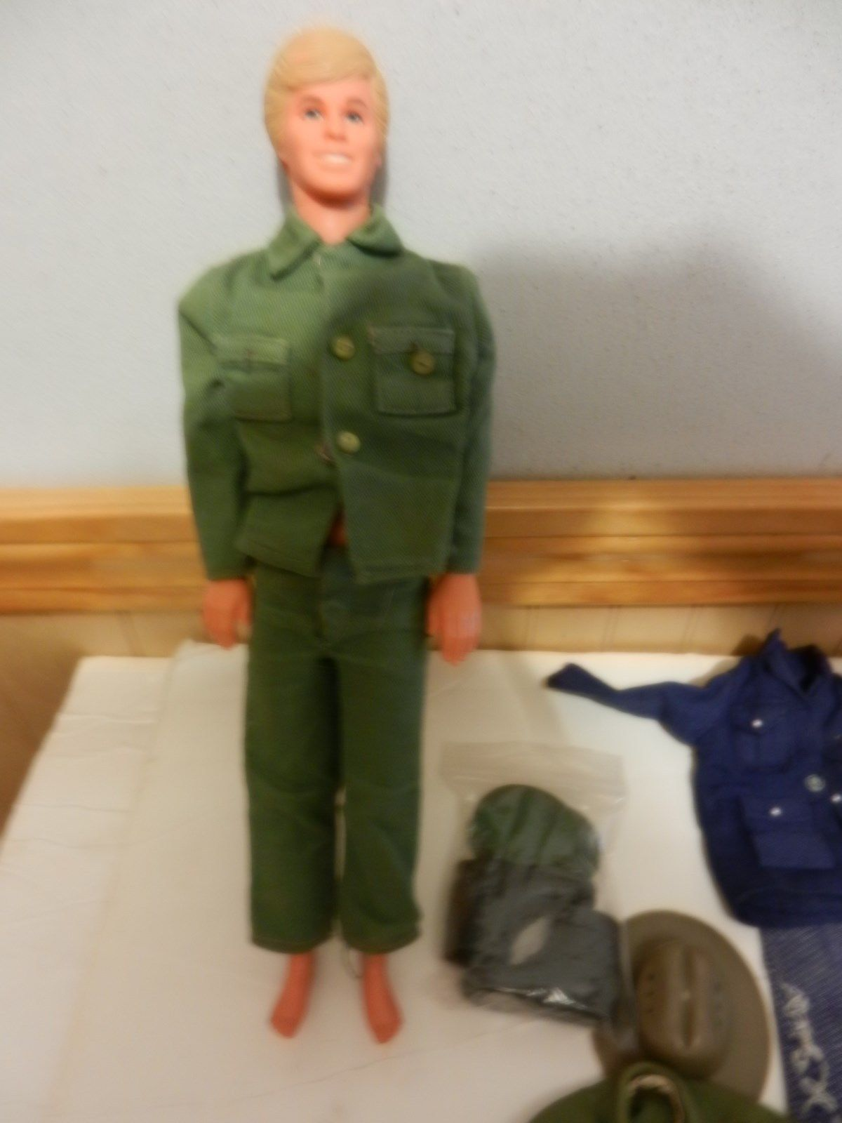 Vintage Lot Of 2 Ken Dolls Gi Joe Military Uniforms Clothes Accessories Army Ebay Outfit Accessories Uniform Clothes Vintage Outfits