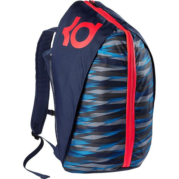 Nike KD Max Air VIII Basketball Backpack ( 90) ❤ liked on Polyvore  featuring men s fashion e12be46f44a61