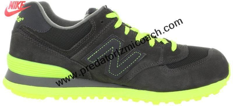 New Balance Sneakers WL574KNR Japanese style Black Grey neon