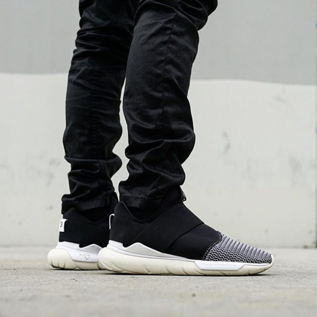 y3 qasa on feet adidas shoes cheap -