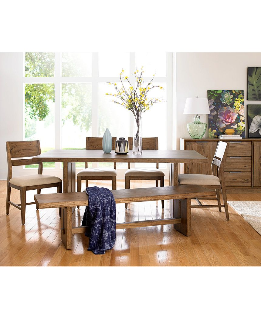closeout living room furniture sets decor modern athena trestle dining table sale macy s