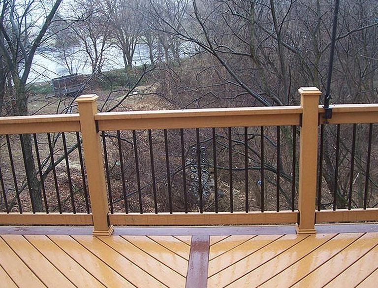 Aluminum Deck Railing Ideas Home Design Ideas Deck Railing Pictures Deck Railings Custom Deck Railing