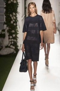 MULBERRY SPRING 2014 COLLECTION - LONDON FASHION WEEK