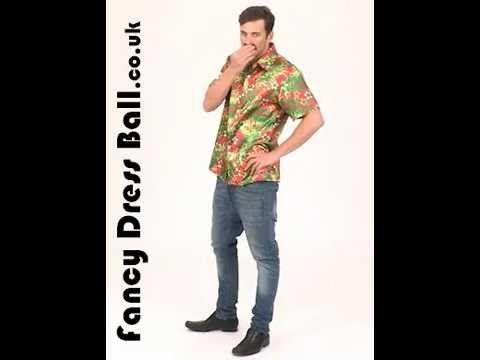 34f3e922b FS2764 Magnum Private Investigator Hawaiian Shirt Video #costumes # fancydress