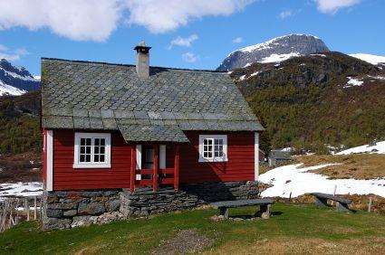 Typical Norwegian Cabin Or Hytte Norwegians Love To Get