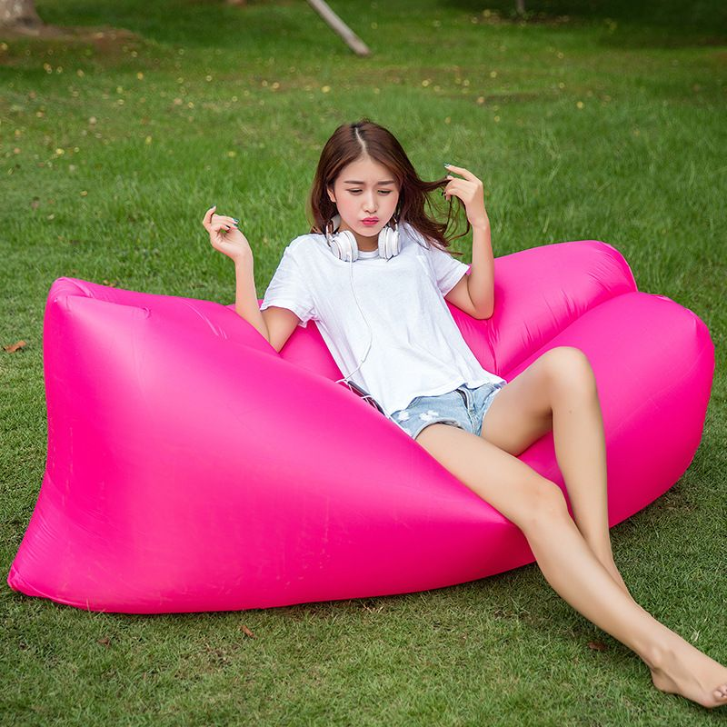 Portable Couch Inflatable Air Camping Bed Sleeping Sofa Outdoor