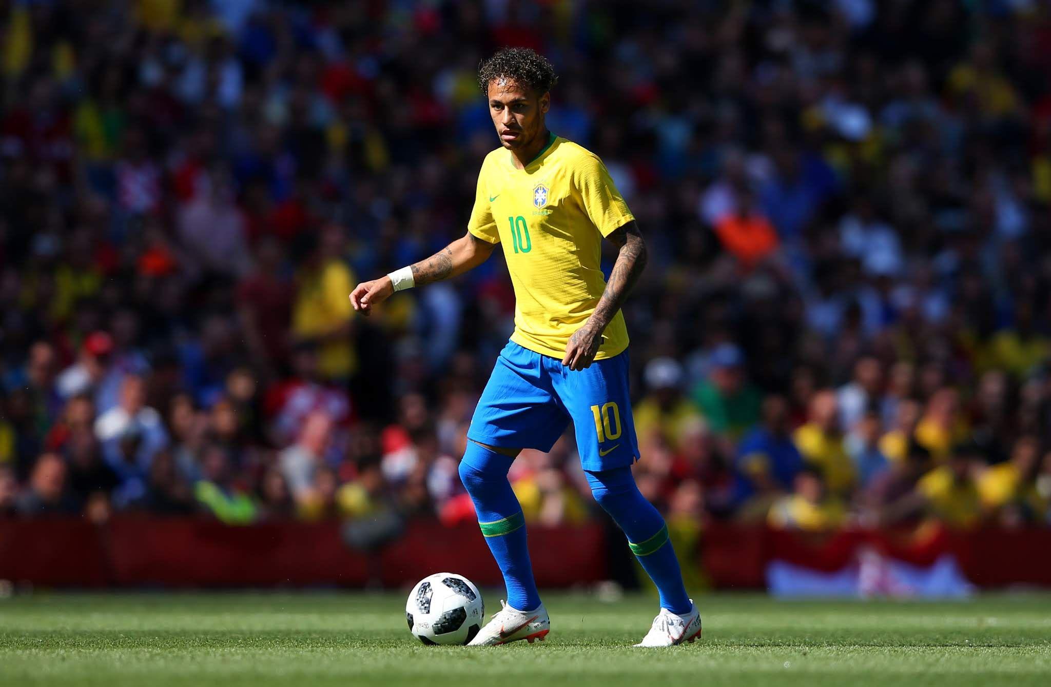 Soccer Brazil Goalkeeper Alisson Claims Neymars Confidence