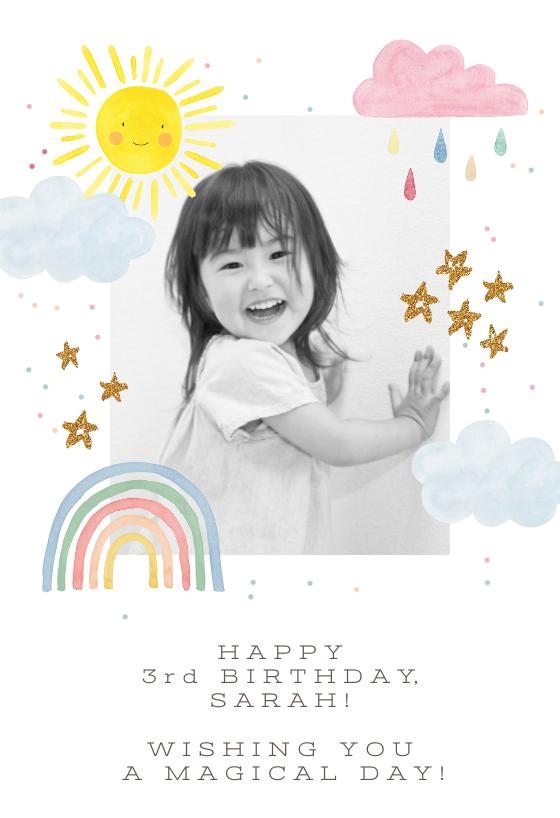 Rainbow Magic Birthday Card Greetings Island Magic Birthday Birthday Cards Happy Birthday Cards