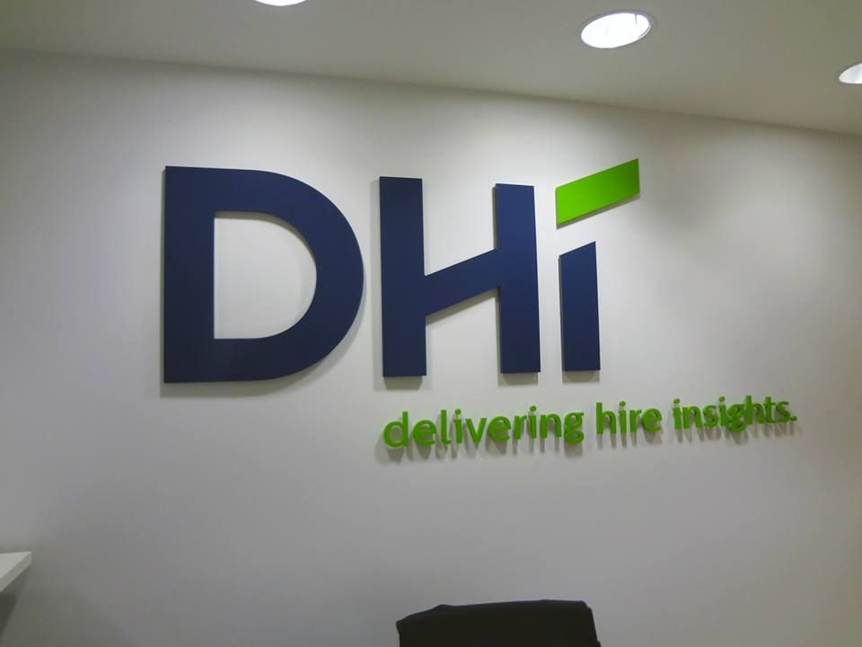 Interior Office Wall Lettering NYC Dimensional Individual 1 2 Thick Painted Acrylic Letters And Logo Pin Mounted To Reception With Spacers