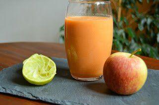 Smoothie de Meloa e Cenoura - http://gostinhos.com/smoothie-de-meloa-e-cenoura/