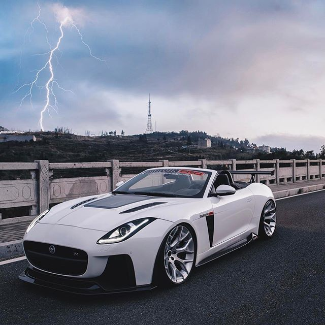 Jaguar Car Wallpaper: $tuningcars - Tuning Car Pictures Jaguar F-Type