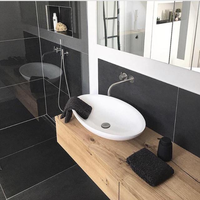 Badezimmer • Bilder & Ideen   Idée sdb, Sdb et Lavabo