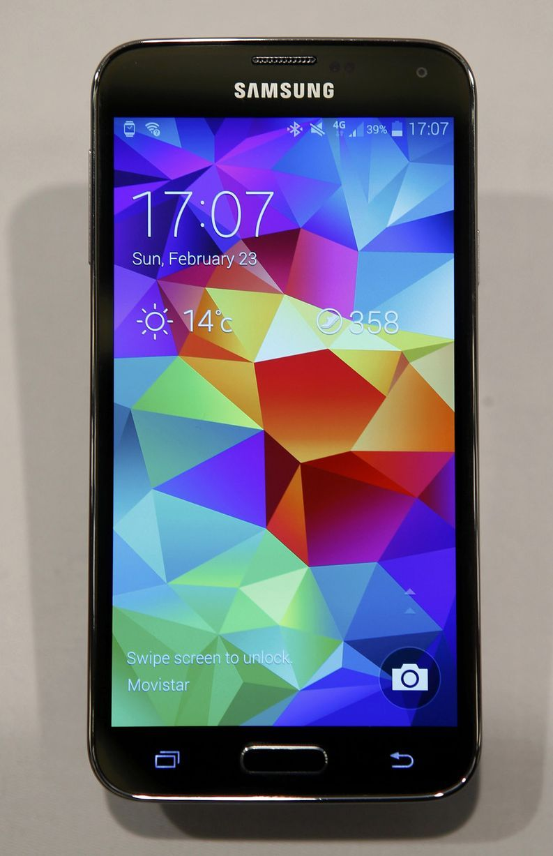 Samsung galaxy s5 unveiled - Samsung Unveil New Galaxy S5 At The Mobile World Congress