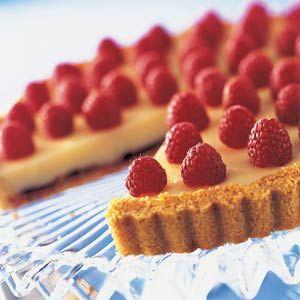 recipe: raspberry and white chocolate tart recipe [18]