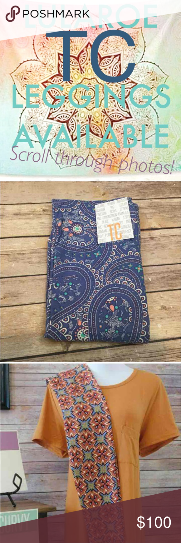 LuLaRoe TC LEGGINGS All listed are TC (Tall and Curvy) and available. Please ask for more info about specific pairs if you're interested.                DO NOT BUY LISTING. WILL BE CANCELLED LuLaRoe Pants Leggings