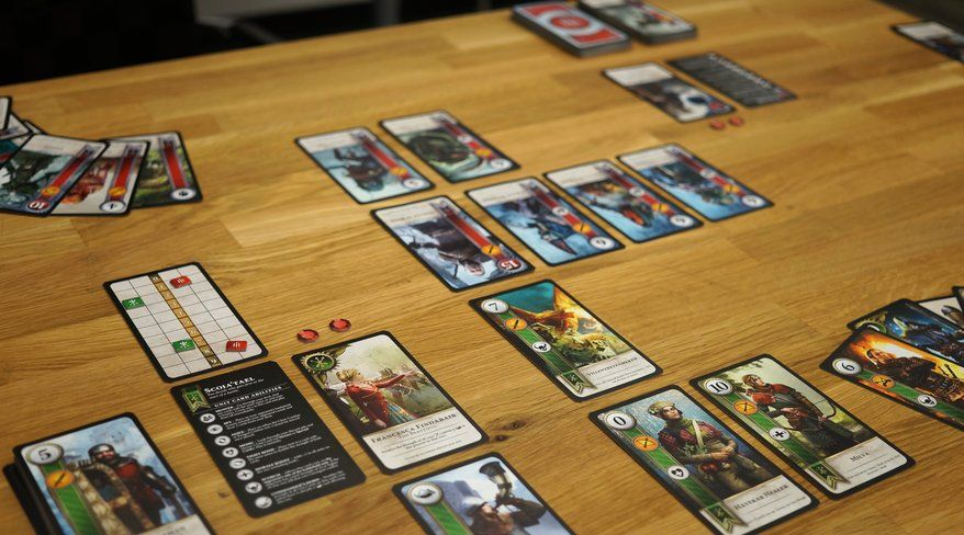 Gwent cards the witcher 3 really cool stuff