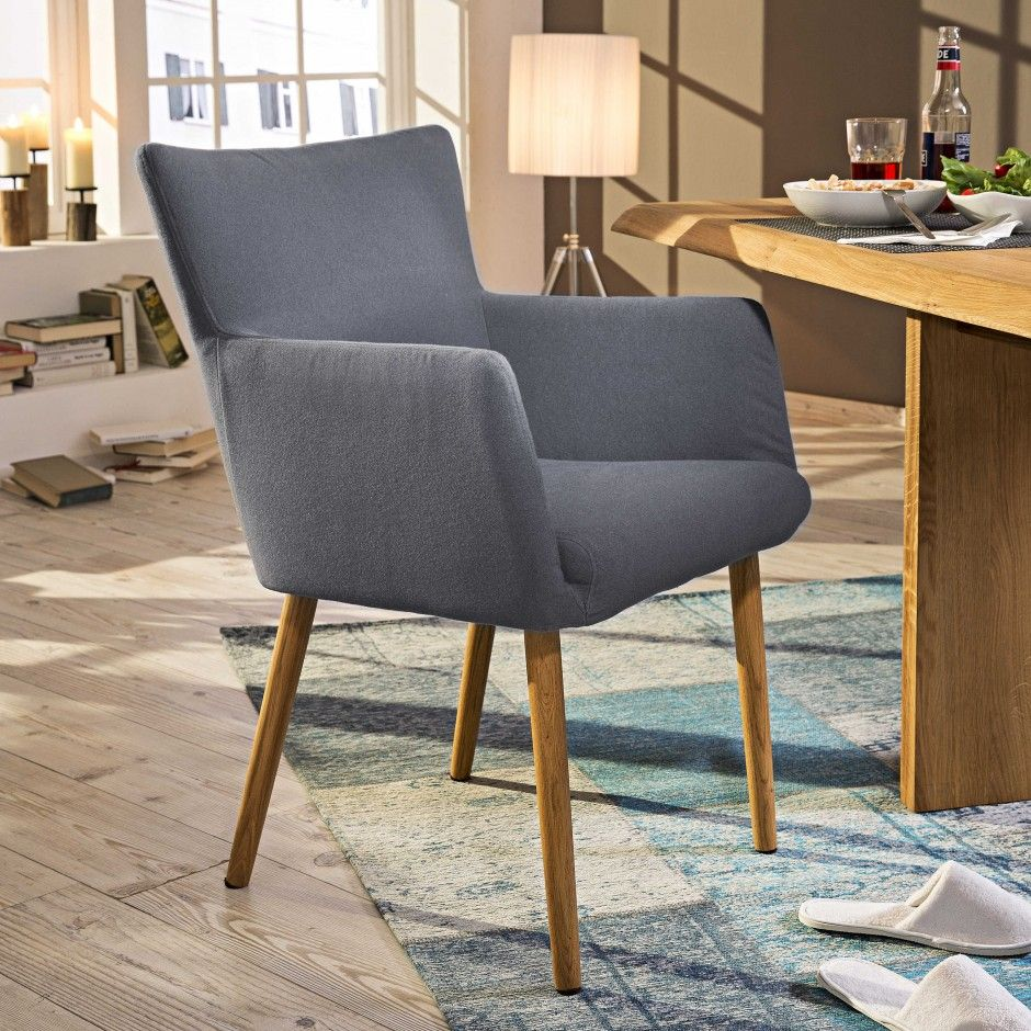 Stuhl hellgrau lamole 4 fuß stühle stühle freischwinger esszimmer möbel