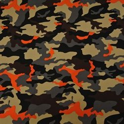Fabric Store Cotton Blend Camouflage Print Ml241820 Camo Orange Camo Camouflage Print