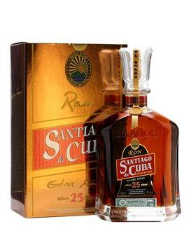 Santiago de Cuba 25 Year Old Extra Anejo Rum