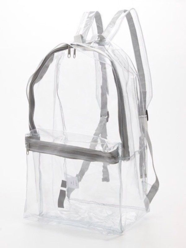 Bag Seethrough Backpack