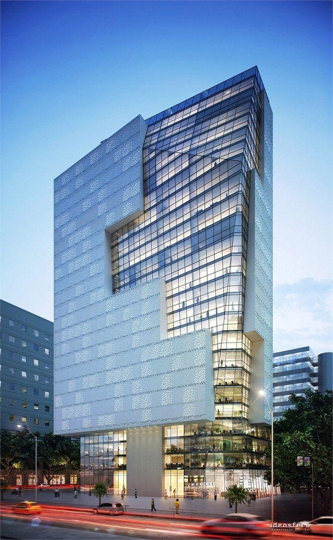 office building facades. Cais Do Porto Tower - Rio De Janeiro, Brazil Office Building Facades R