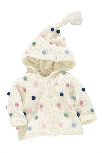 6d05f5d82d2d Newborn Clothing - Baby Clothes and Infantwear - Next Bobble Hooded ...