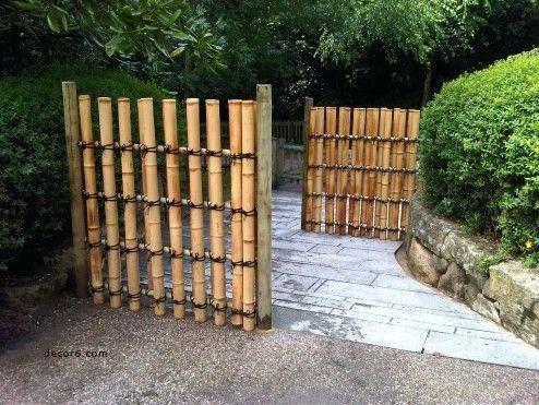 The Bamboo Garden Fence #bambussichtschutz
