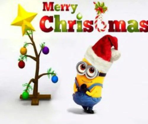 Mery Christmas.Mery Christmas Be Cool Minion Christmas Merry Christmas