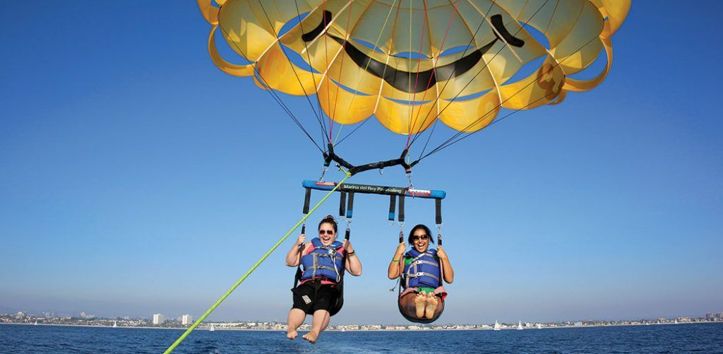 Parasailing West Palm Beach Beach adventure, Parasailing